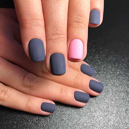Manicures, Art, Matte Nail, Simple Nail, Matte, Simple, Idea