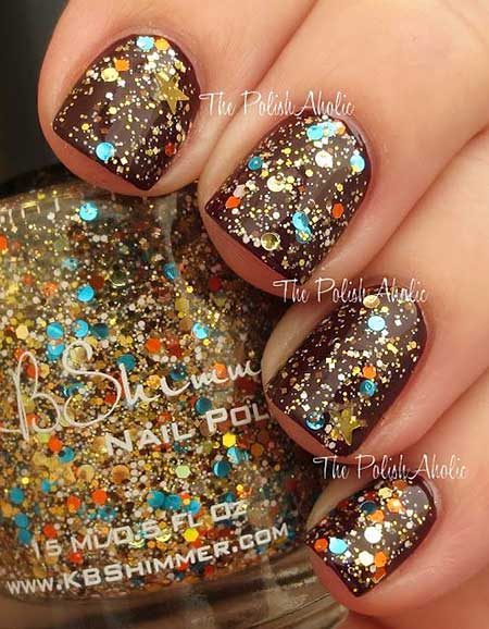 Polish, Glitter, Nail Polish, Glitter Nail, Swatch, Sparkle, Opi, Swatches