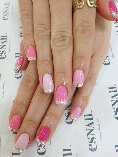 Nail, Pastel Nail, Pretty Nail, Pink, French Manicure, Manicures, Pastel