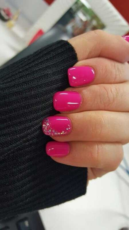 Pink, Pinknail Polish, Accent Nail, Polish, Hot Pink, Opi, Little, Hot, Accent, Gel