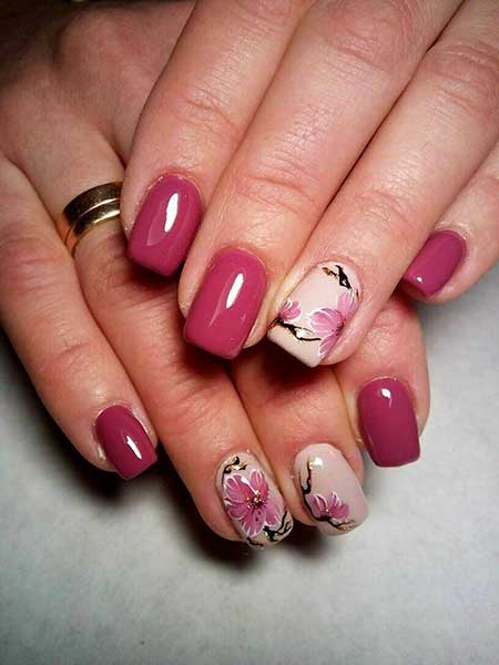 Pink Butterfly Nail, Pink, Art, S, Butterfly, Colors, 2017, Spring