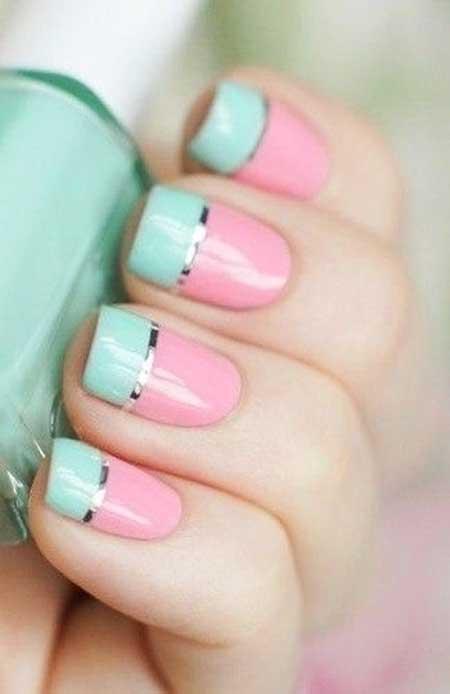 Pastel Nail, Nail Polish, Pretty Nail, Art, Spring Pastel