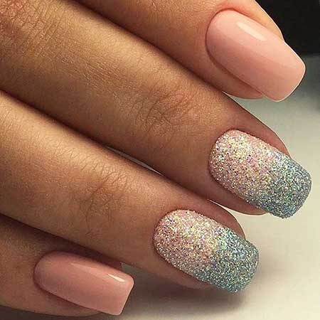 Glitter, Polish, Glitter Nail, Nail Polish, Sparkle, Swatch, Christmas Ombre, Christmas, Elegant [