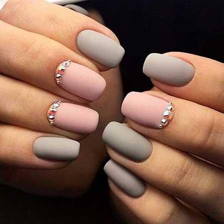 Art, Manicures, Simple Nail Polish, Polish, Grey