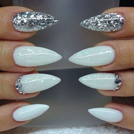 Almond Nail Design, Stiletto Nail Nails Pics
