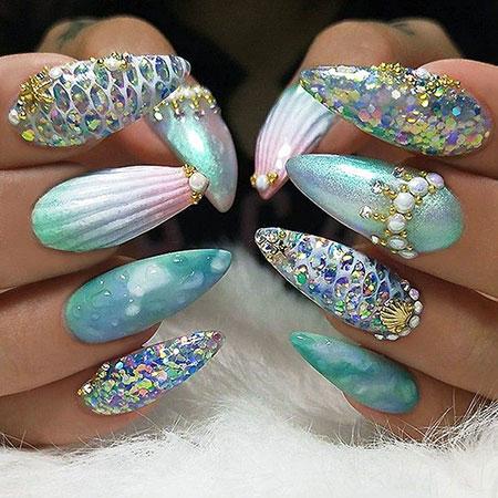 Nails Nail Sydney Mermaid