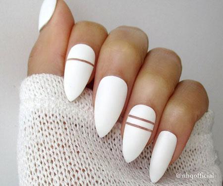 White Nails Nail Matte