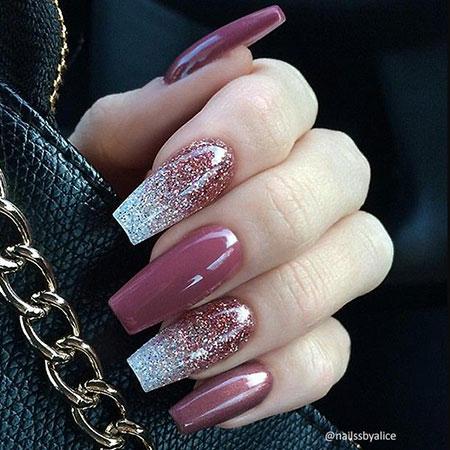 Nails Nail Glitter Long