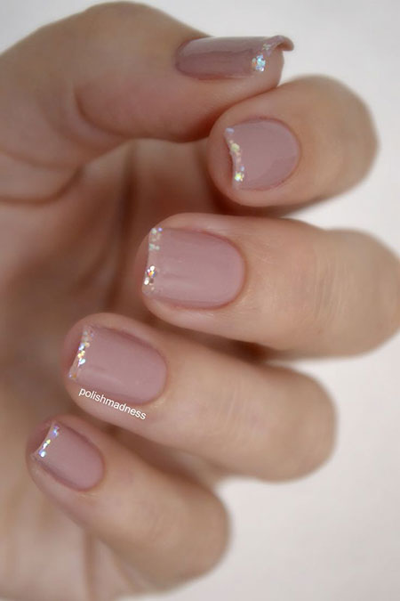 French Nails Manicure Nail