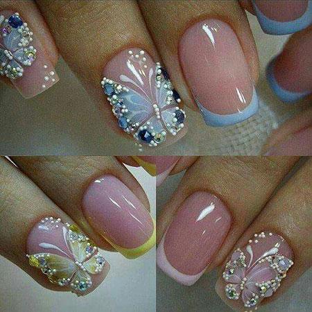 Nail Butterfly Nails Nailart