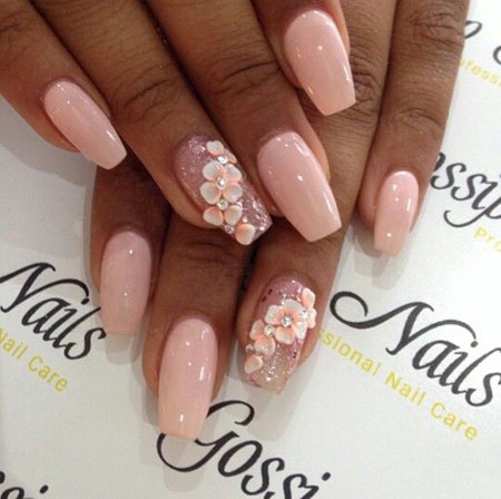 Nail Nails 3D Pink
