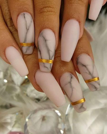 Nails Matte Nail Toe