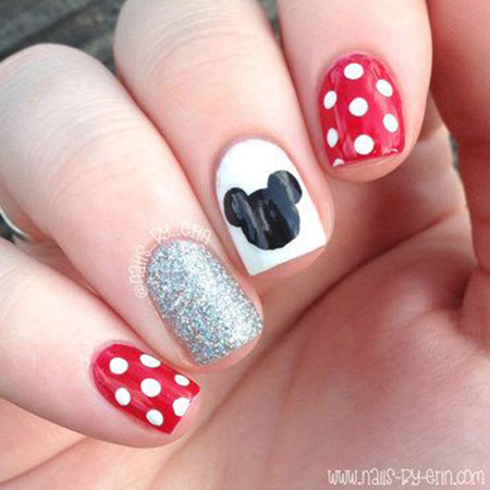 Nails Disney Minnie Nail