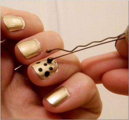 Easy do Dots on Nails, Nail Art Dots Easy