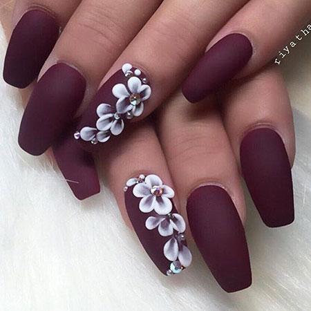 Nail Nails Matte Design