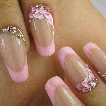 Nail Nails Pink Manicure