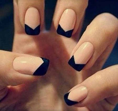 Nail Manicure French Nails