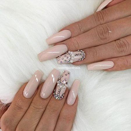 Nails Nail Nude Classy