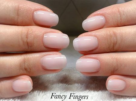 Nail Gel Natural Manicure