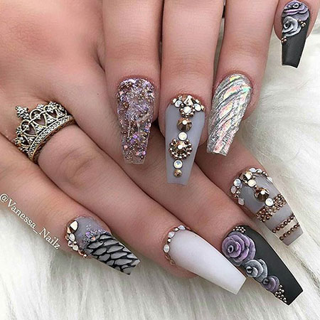Nail Nails Ideas Coffin