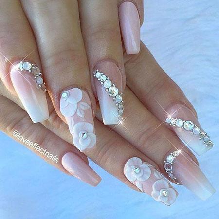 Nail Nails Wedding Day