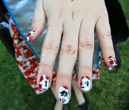 Nail Art Graduation Galleries