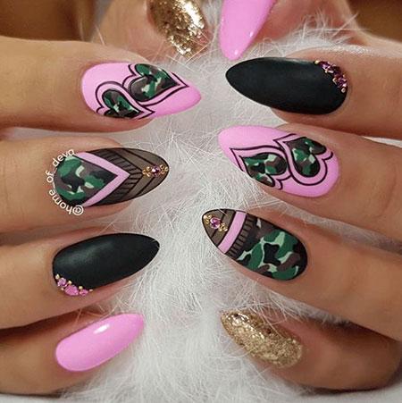 Nail Nails Art Camo