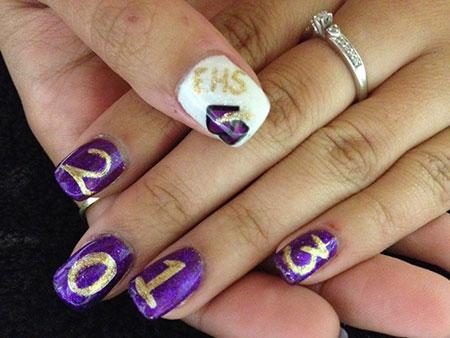 Nail Graduation Art Ideas