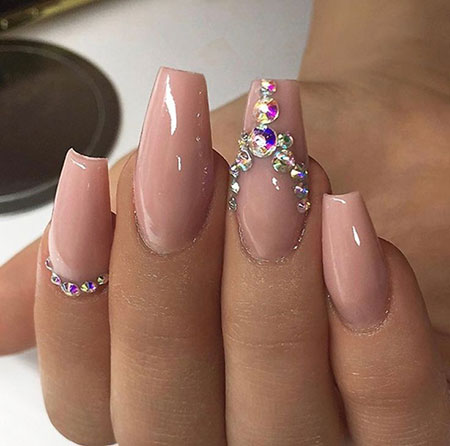 Nails Nail Nude Love