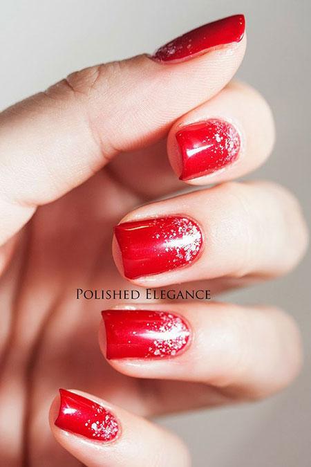 Red Nail Polish Nails