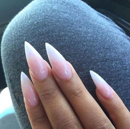 Nail Nails Stiletto Design