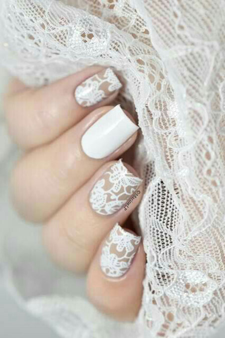 Nails Nail Wedding Manicure