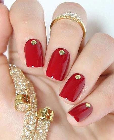 Nails Nail New Red