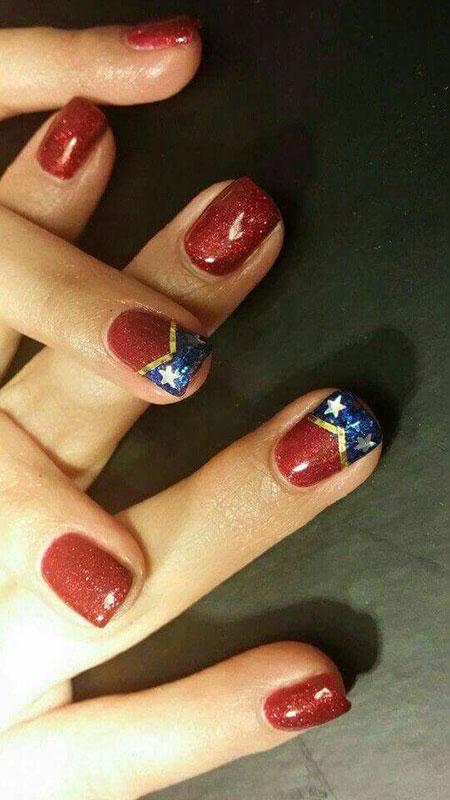 Nail Nails Red Art