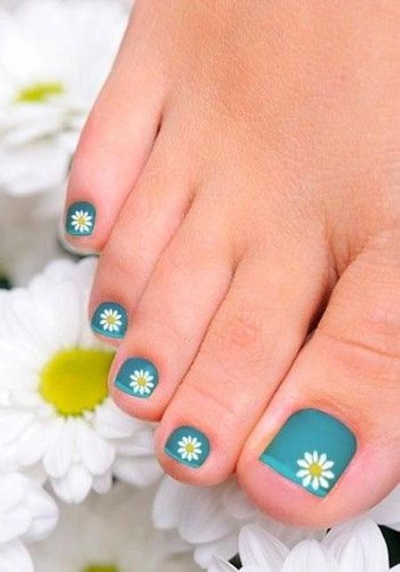 Nail Toenail Summer Toe