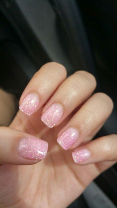 Nail Natural Manicure Love