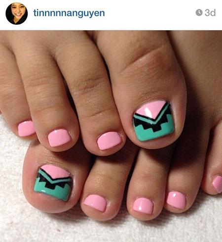 Nail Toe Tribal Toes
