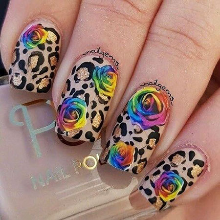 Rose Water Decals Flower