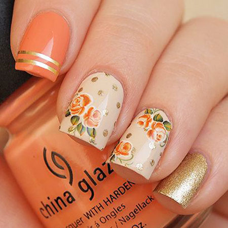 Rose Water Floral Decals