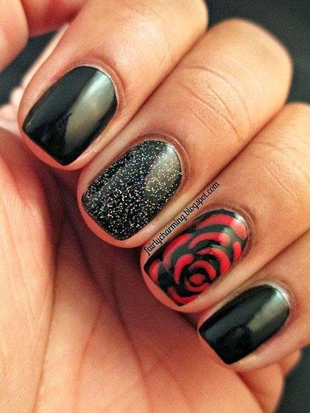 Rose Manicure Polish Red