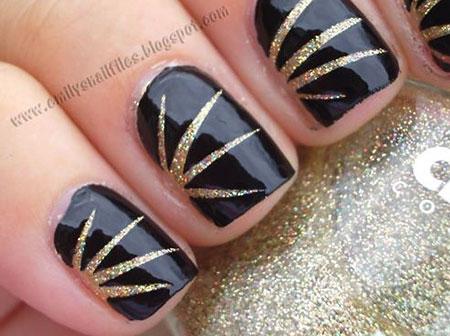 Gold Black Polish Tone