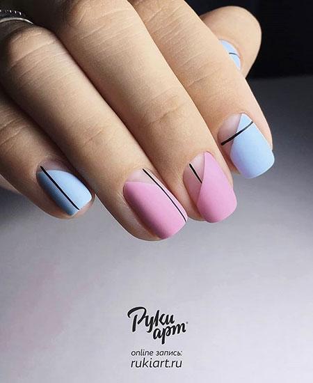 Manicure Toe Pink Педикюр
