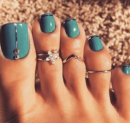 Toe Rings Great Color