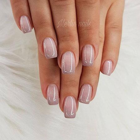 Manicure Nude Gray Girls