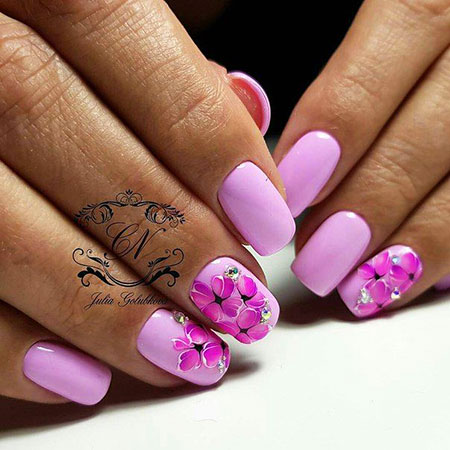 Manicure Short Pink