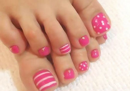 Toe Pedicure Top Summer