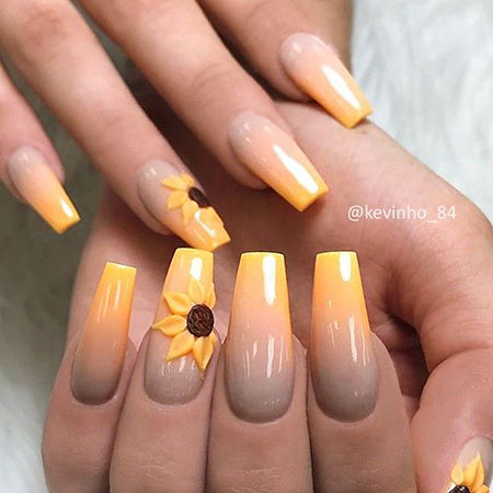 3D Long Ombre Effect