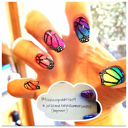 Butterfly Ideas Photos Manicure