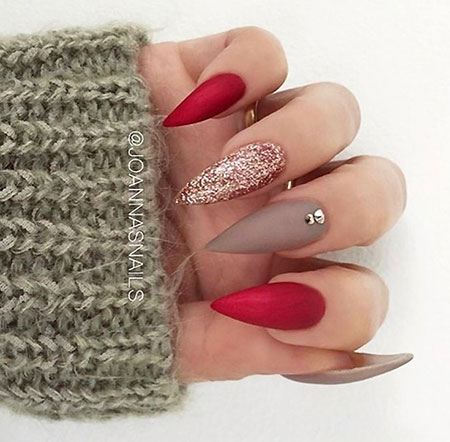 Stiletto Manicure But Love