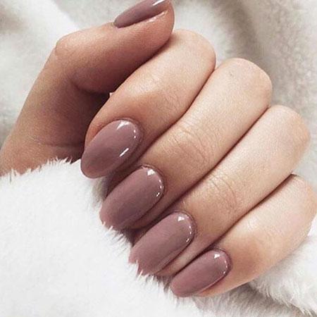 Polish Pink Acrylic Manicure